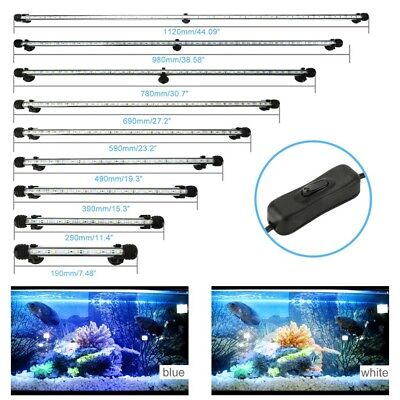 5050 LED Aquarium Plant Fish Tank Lights Lamp Bar Underwater Submersible Strip