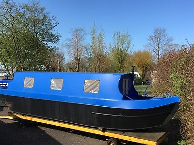 35ft Cruiser Style Narrowboat. Brayzel Narrowboats Sailaway or fully fitted