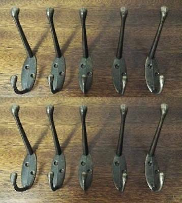 10X Hooks Wall Hanger stainless steel Coat Hat Clothes Robe Holder Rack Hook