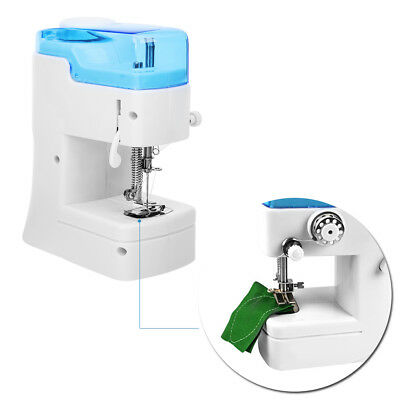 Hand Held Mini Electric Sewing Machine Household Sewing Tailor Double Threads