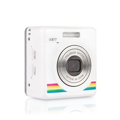 Polaroid iZone White 18 MP 8x Optical Zoom Mini Wifi Digital Camera Camcorder