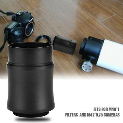 2inch Photography Telescope Extension Tube Adapter Eyepiece Accessories for DSLR