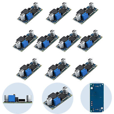 10PCS LM2596S DC-DC 3A Buck Adjustable Step Down Power Supply Converter Module