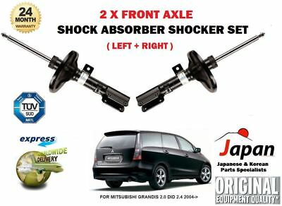 For Mitsubishi Grandis 2.0 Did 2.4 2004->New 2X Front Shock Absorber Shocker Set
