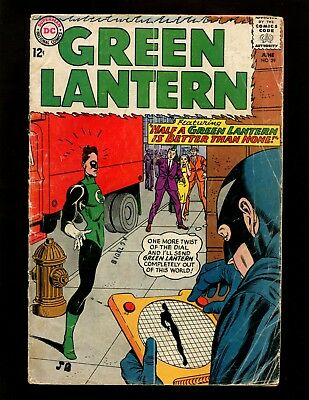 Green Lantern #29 VG Kane 1st and Origin Black Hand Justice League of America