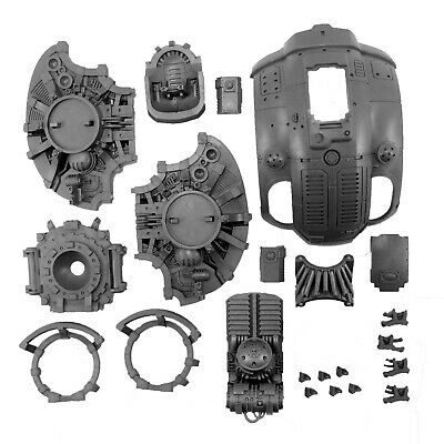 Imperial Knight weapon Warhammer parts Torso