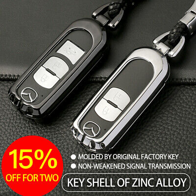 Deluxe Zinc Alloy Metal Car Key Case Cover for Mazda 2 3 5 6 CX3 CX5 CX7 CX8 CX9