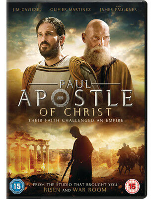 Paul, Apostle of Christ DVD (2018) James Faulkner ***NEW***