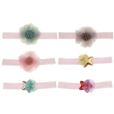 Newborn Lace Satr Headband for Girls Kids Baby Toddler Infant Lace Hair Band