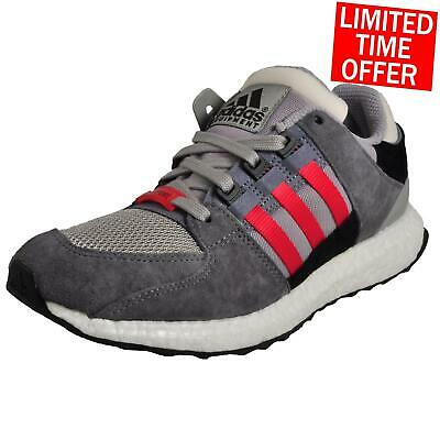 Adidas Equipment Support Boost 93 /16 Mens Classic Casual Retro Trainers Grey