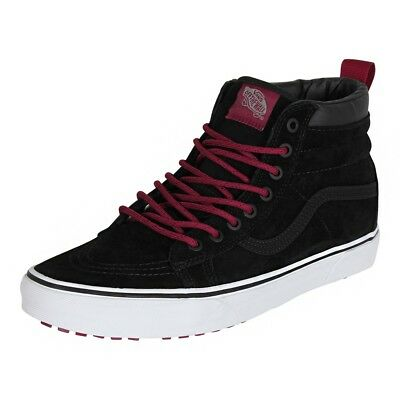 907c97e9b7b3 Vans Sk8 Hi MTE Black Beet Red Men s 7 Women s 8.5 Skate Shoes New All  Weather