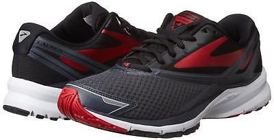 7e02016dd7be7 Brooks Launch 4 Men s Running Shoes (Size 11.5) Anthracite Black Red  2441D016