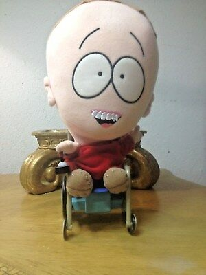 PLUSH SOUTH PARK TALKING TIMMY DOLL Great Sound & Looks Great