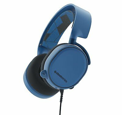 SteelSeries Arctis 3 Gaming Headset for PC, PS4, Xbox One,VR, mobile Boreal Blue