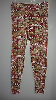 df9211b50a66cc Nwt Bobbie Brooks Women's Size Small Multi Color Design Elastic Waist  Leggings