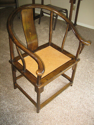 Maria Yee Chinese Horseshoe back chair