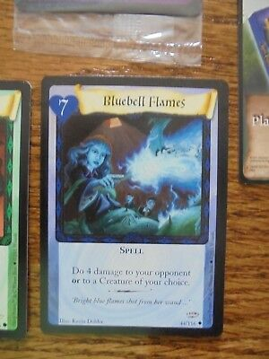 Harry Potter TCG Bluebell Flames Promo Card  44/116, Cool Card!