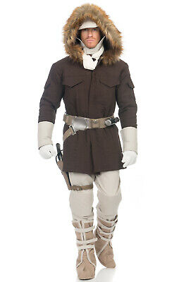 Brand New Star Wars Prestige Hoth Han Solo Adult Costume