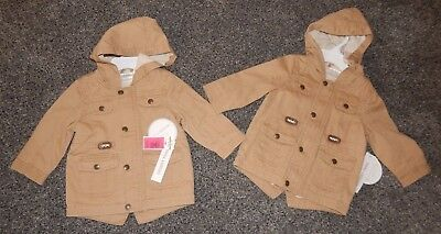 Infant Size 6/9 Mos--Koala Kids Brand Khaki Jacket For Twin Boys Or Buy One-New