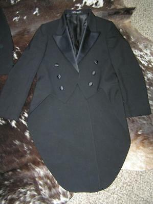 Black Tux withTails Formal Wilshire 6 Buttons 16 R Big Boys