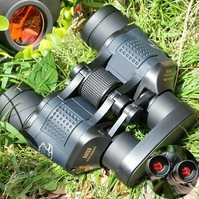 Day/Night 60x60 5-3000M Waterproof HD Hunting Binoculars Telescopes AU Hot