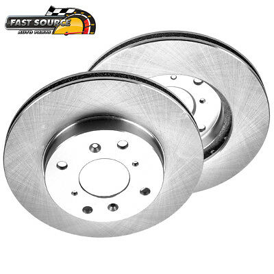 Front Brake Disc Rotors For ACURA CL HONDA ACCORD SEDAN COUPE 4 CYL PRELUDE