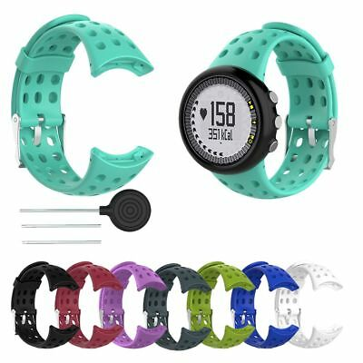 Replacement Silicone Watch Band Wristband Strap For SUUNTO M1 M2 M4 M5 M Series