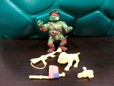 Tmnt Green Beret Raph Raphael 100% Complete Teenage Mutant Ninja Turtles
