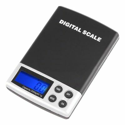 2000g/0.1g Mini LCD Display Pocket Electronic Digtal Gram Jewelry Scale 2kg X8C0