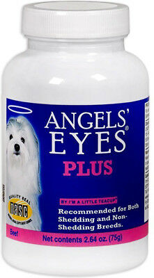 ANGELS' EYES PLUS - Natural Supplement for Dogs Beef Flavor - 2.64 oz. (75 g)