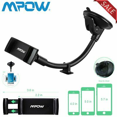 Mpow 360° In Car Windshield Dashboard Car Mount Holder GPS Phone Suction Holder
