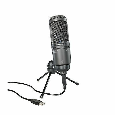 Audio-Technica AT2020USB+ - Cardioid Condenser USB Microphone