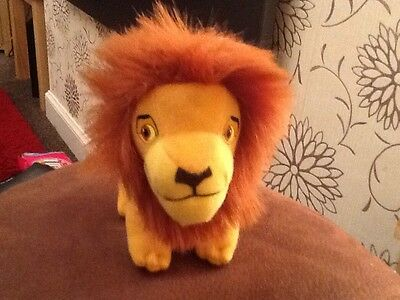 """McDONALDS DISNEY THE LION KING """"SIMBA"""" CHILD'S COLLECTABLE SOFT TOY 1998"""