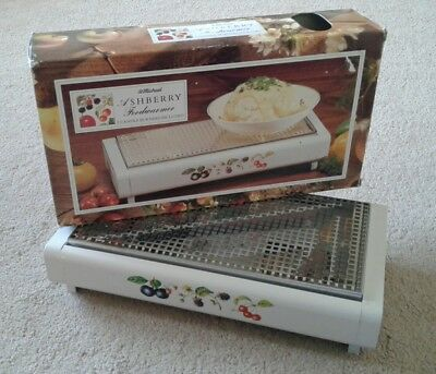 St Michael (M&S) Ashberry Tabletop Food Warmer Tealight Candles