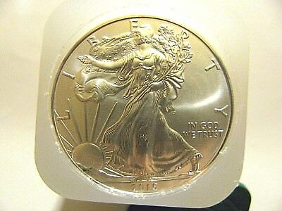 2015 $1.GEM BU American Silver Eagle 1 Troy OZ. .999 Fine Coin *from mint tube