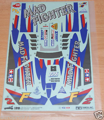 Tamiya 58275 Mad Fighter, 9495369/19495369 Decals/Stickers, NIP