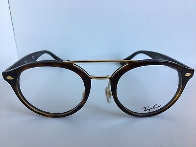 New Ray-Ban RB 5354 RB5354 5674 50mm Rx Round Tortoise Eyeglasses Frames 953be11e8f87