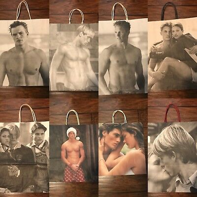 Lot of Abercrombie shopping bags
