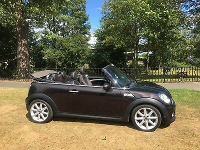 2012/62 Mini Cooper Diesel Highgate Convertible Iced Chocalate*mega Spec