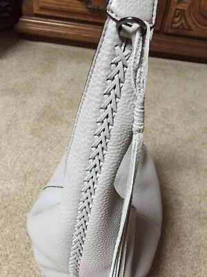 6f6cef2075 NEW LAUREN RALPH Lauren Indian Cove Tan Sand Leather Whipstitch ...