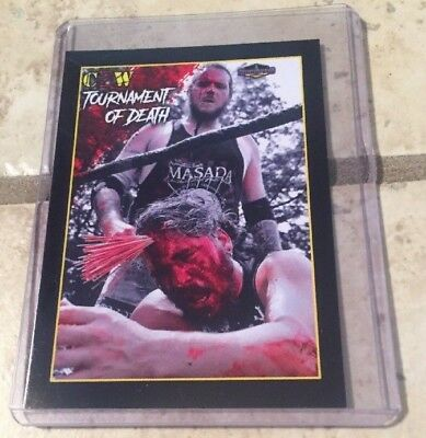 HighSpots Exclusive CZW Tournament Of Death 17 #02 Trading Card, Masada