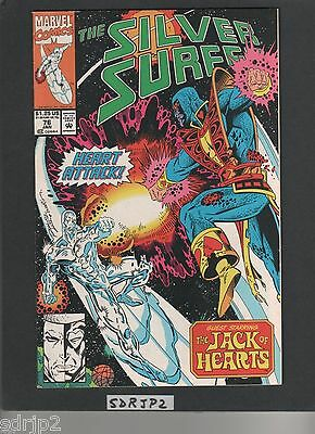 SILVER SURFER V.3 #76 (NM-) JACK of HEARTS, GALACTUS, FIRELORD(THANOS AVENGERS)
