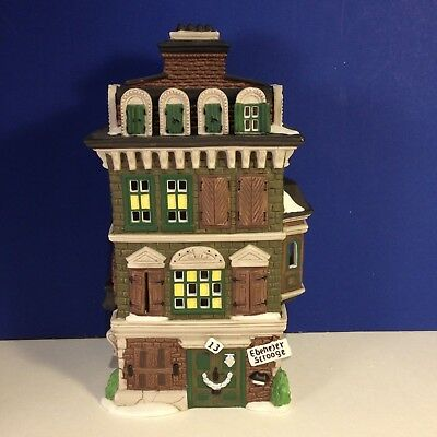 Dept 56 Dickens Village THE FLAT OF EBENEZER SCROOGE w/ box Combine Shipping