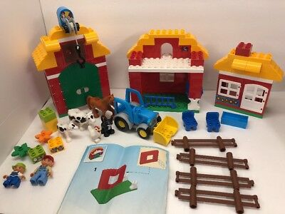 Lego Duplo Big Farm 10525 And Instructions Missing Pitchfork
