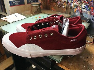 470e934b5e Vans Chukka Low PRO (Rubber) Red Dahlia NIB Size US 11 Men s VN0A2XSFLSJ