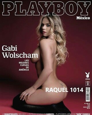 Playboy Mexico Gabi Wolscham Julio July 2018 Playboy Mexican Edition New/sealed