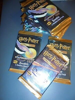 Harry Potter Quidditch Cup trading card game TCG pack, unopened 11 cards