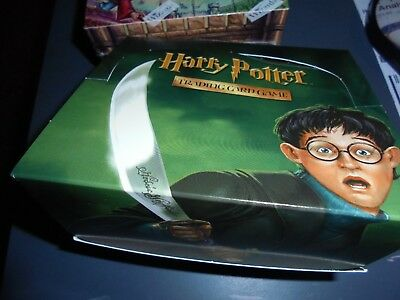 Harry Potter Chamber of Secrets trading card game TCG pack unopened