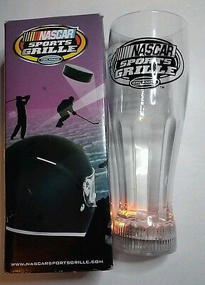 City Walk Light Up Bottom Mug Beer Glass Orlando FL Nascar Sport Grille Plastic
