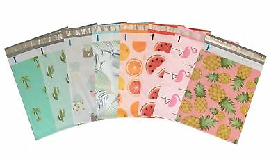10x13 8-Colorful Variety Pack Designer Poly Mailers Plastic Envelopes Shipping